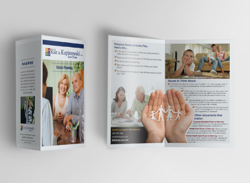 Brochure Design For Kile Phoenix