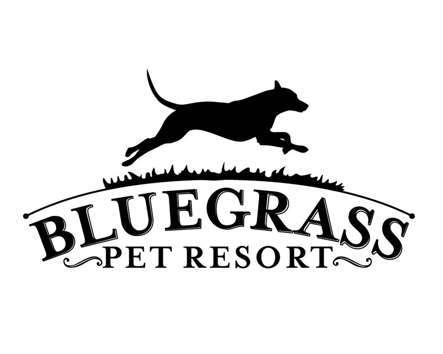 Bluegrass Pet Resort Phoenix Logo Design