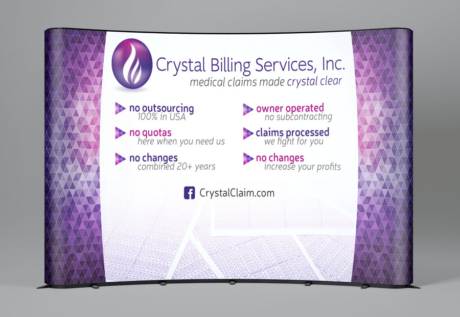 Crystal Billing Services Trade Show Booth Design Phoenix
