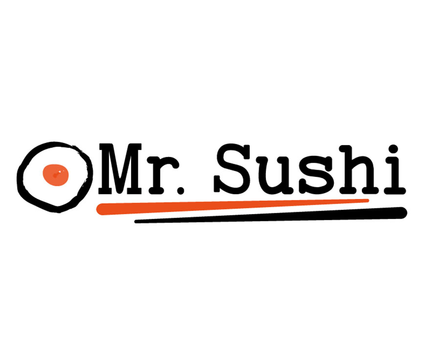 Mr. Sushi Bar Logo Design