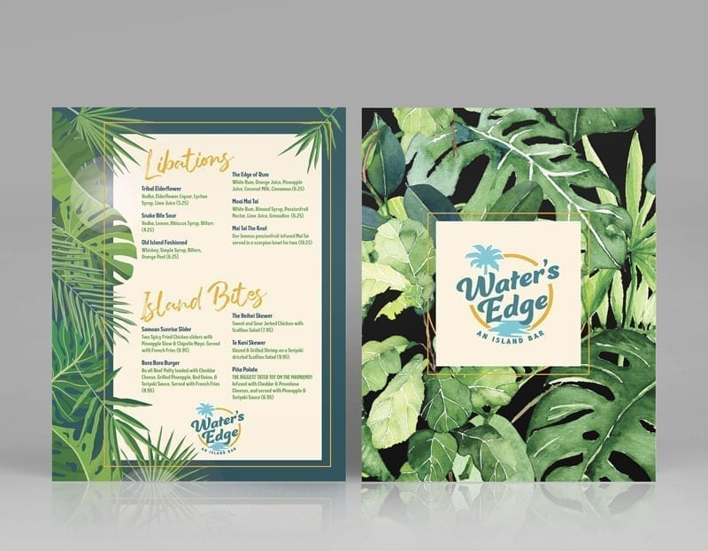 Restaurant Menu Design: Bar Rescue Episode 629