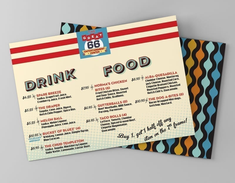 Restaurant Menu Design: Bar Rescue Episode 705